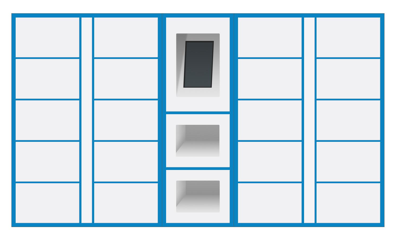 智能送檢柜,適用于機構投放,可用于食品檢測,為百姓食品安全添保障